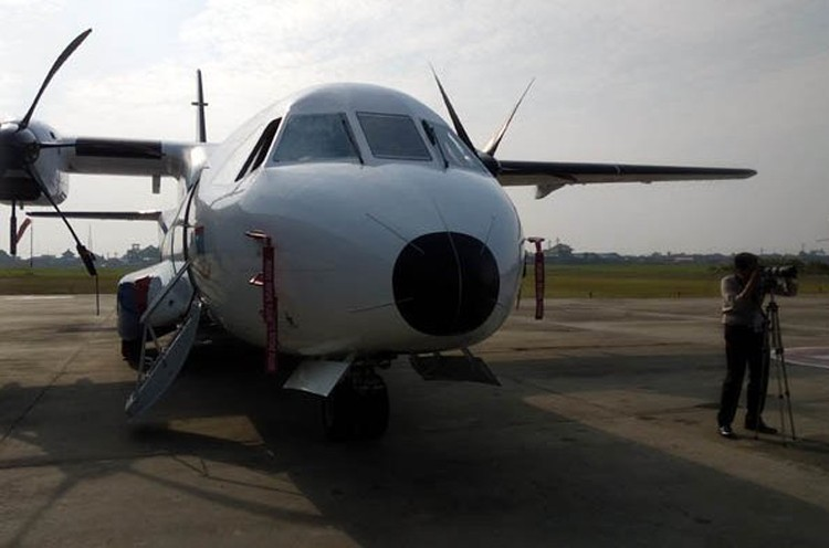 Police take delivery of CN295 plane ahead of schedule