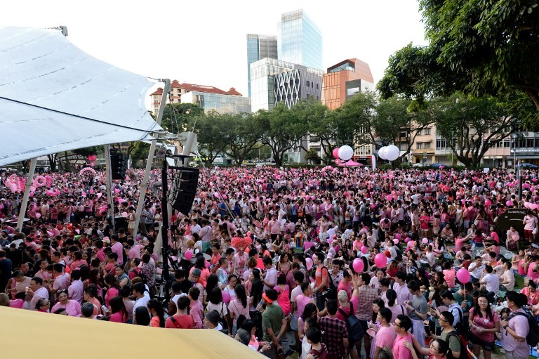 Most Singaporeans still support law banning gay sex:  Survey