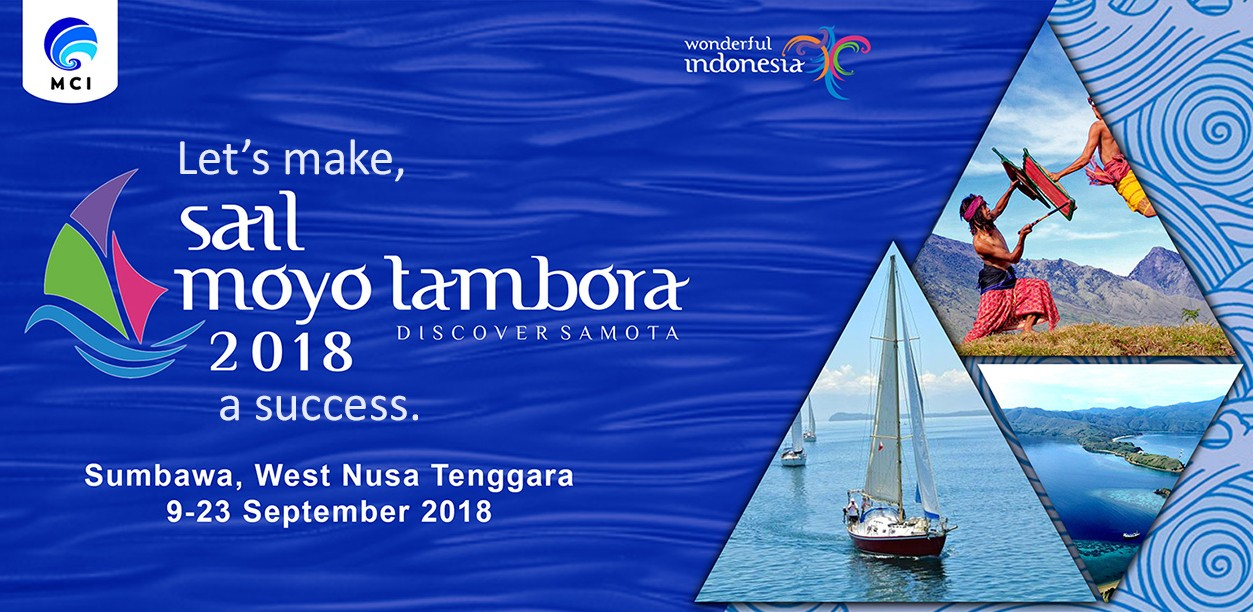 Sail Moyo Tambora back, with more appealing programs