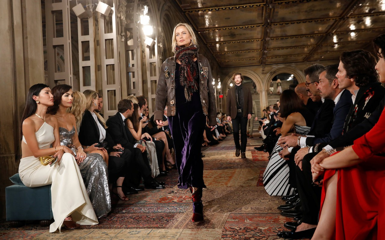 b6cb799d741 Ralph Lauren marks 50th anniversary with Central Park fashion gala ...