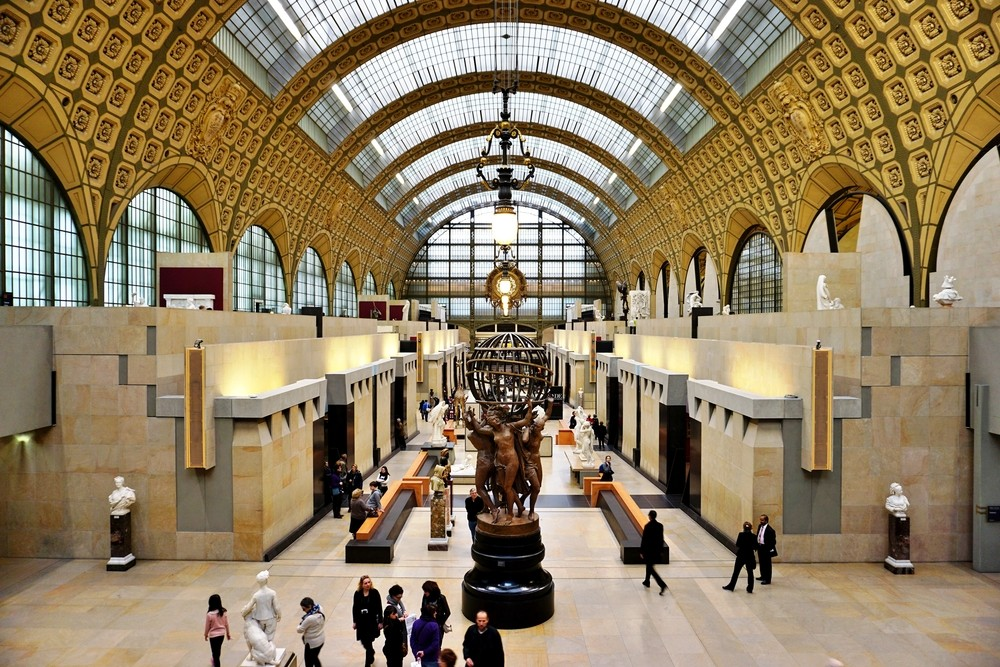 The Musee d'Orsay in Paris voted world's best museum