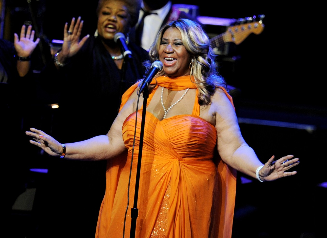 'Aretha!' live show taping in January
