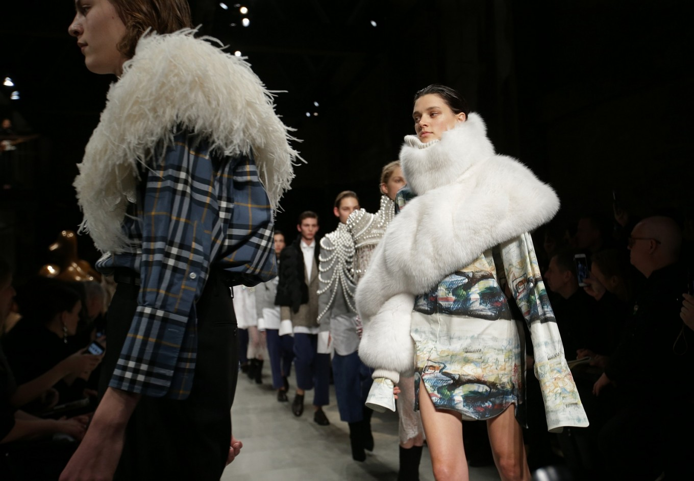 Designers ditch fur for London Fashion Week