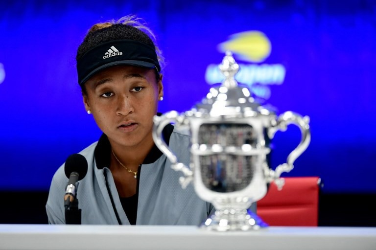 Sorry isn't hardest word at all for Naomi Osaka