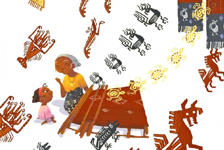 For and by kids: Kisah dari Sumba is a children's book based on stories told by children from the island.