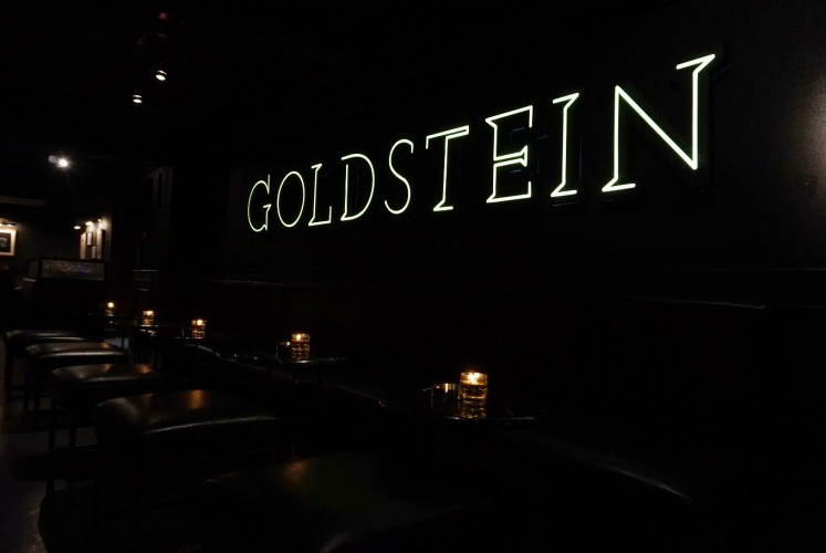 Live music is at Goldstein from Tuesday to Sunday from 9 p.m. or 10 p.m.