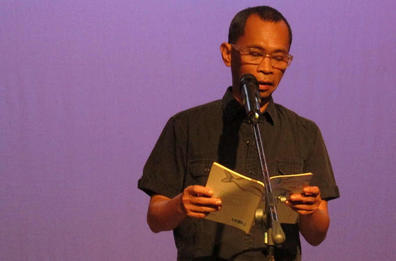 Gunawan Maryanto launches new poetry collection