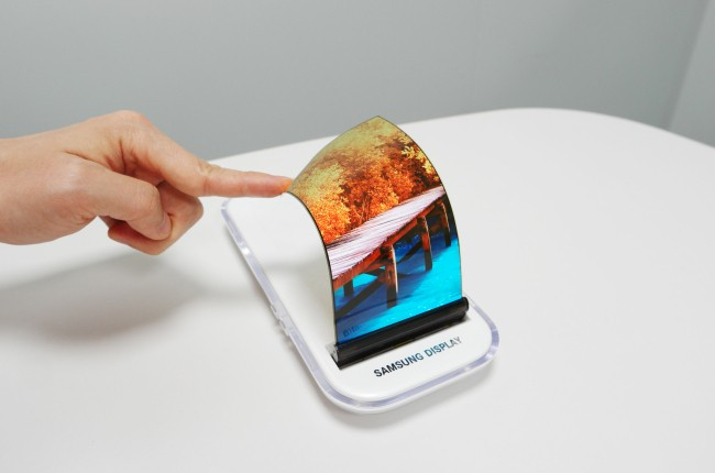 Will Samsung unveil world's first foldable phone in November?