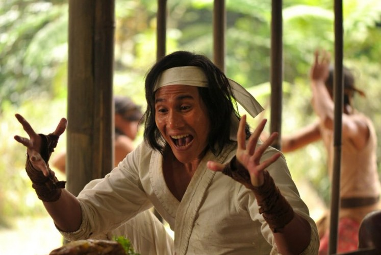 The young adult version of Wiro Sableng played by Vino G. Bastian.
