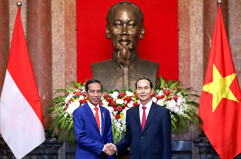 Indonesia Targets B Trade With Vietnam By  Jokowi