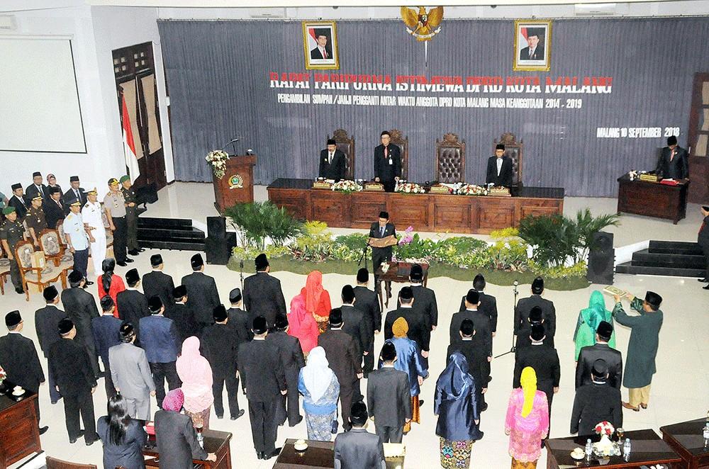 Half of arrested Malang councillors seeking reelection: KPU