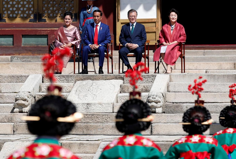 Jokowi-Moon summit
