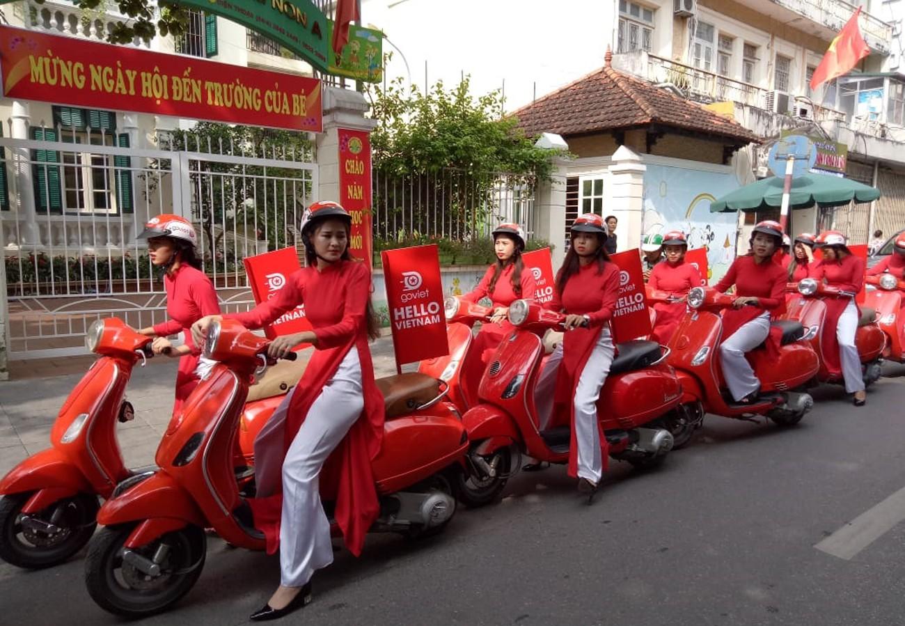 Go-Jek kicks off maiden operation in Vietnam