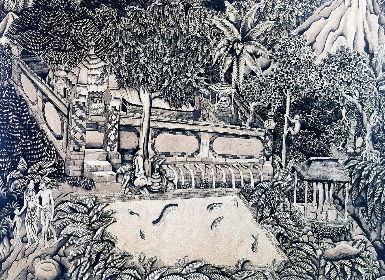 I Nyoman Ngendon: Between paintings and bullets