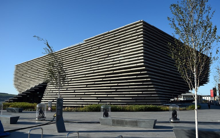 Japanese architect's new V&A museum opens in Scotland