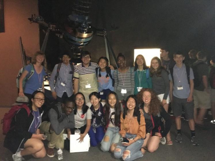 2018 Summer Science Program participants