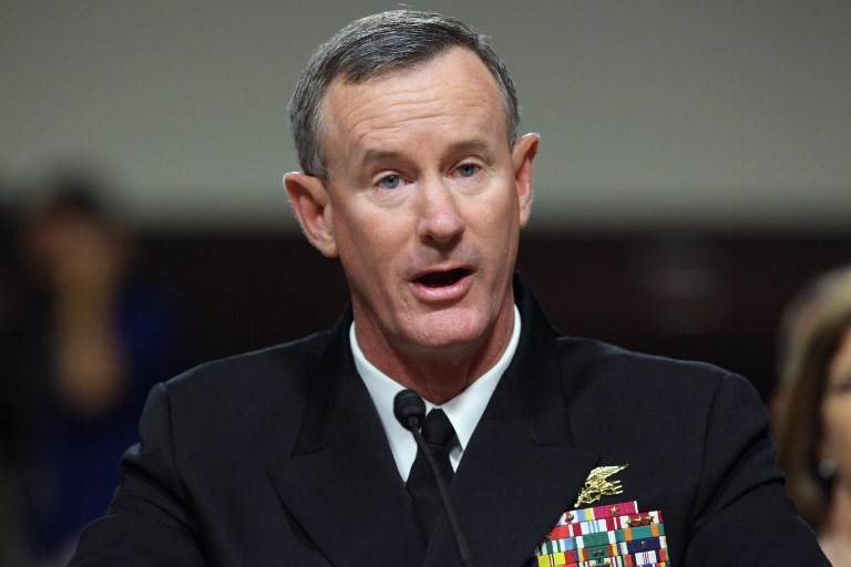 Admiral who blasted Trump steps down from Pentagon body