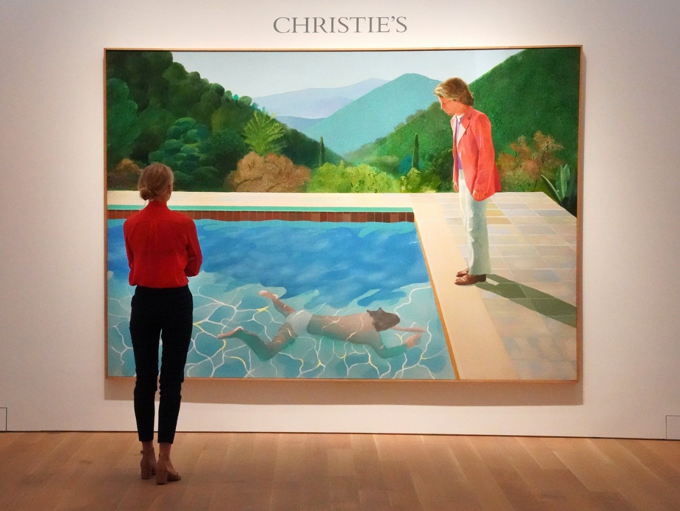Hockney poised to set auction record for living artist