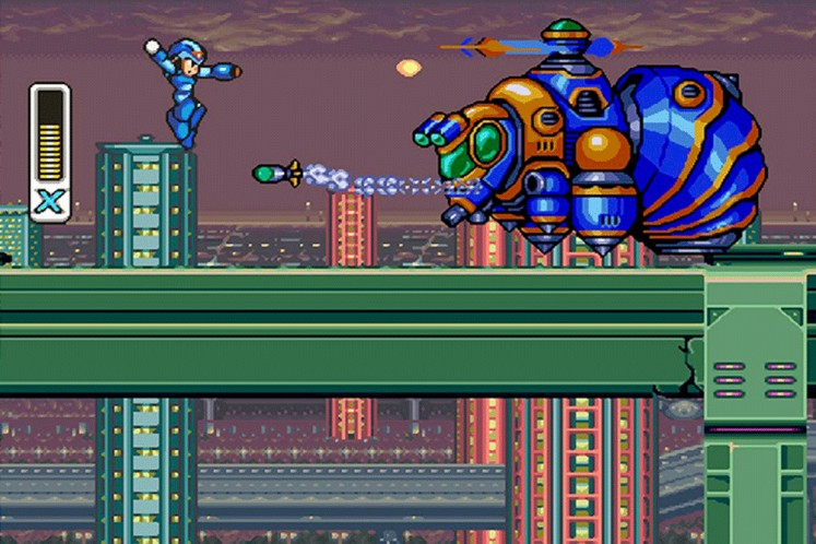 For fun: Colorful enemies and challenging levels make the Mega Man X series an addictive gameplay experience.