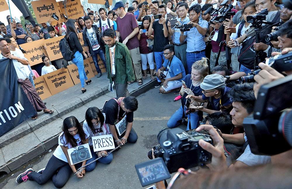 Media gains reversed in Myanmar coup