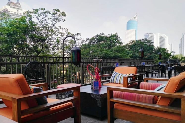 Three restaurants for alfresco dining in Jakarta