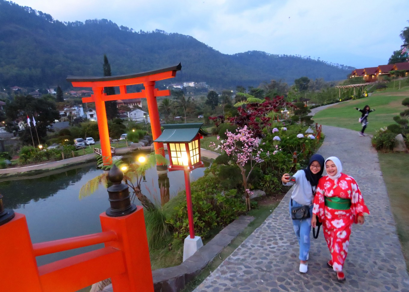 East Java resort offers Japanese hot springs