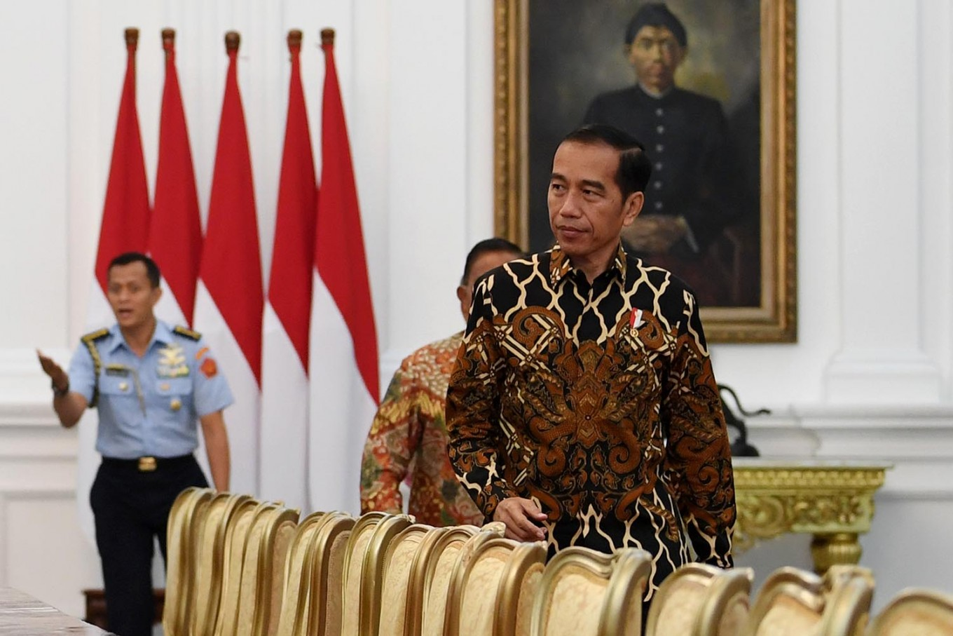 Jokowi urges local govt to tech-up