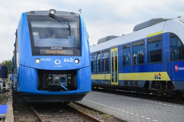Germany rolls out world's first hydrogen train
