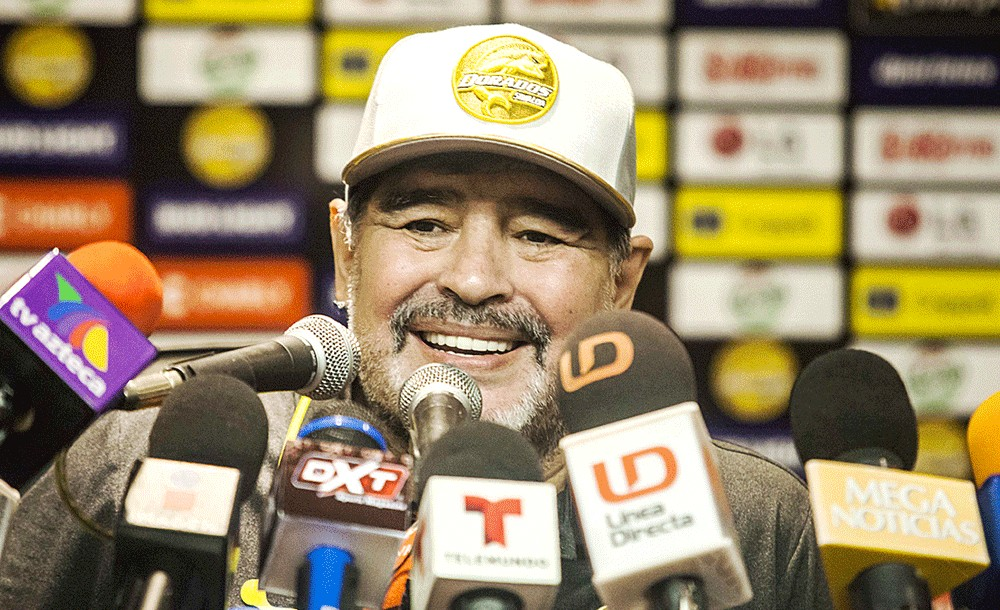 Maradona in hot water over pro-Maduro comments