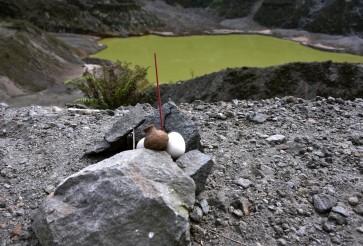 Warding off Lembu Sora's curse at Mt. Kelud crater