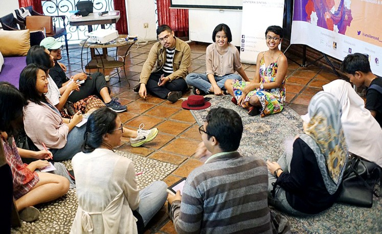Therapeutic: As well as exhibitions, House of the Unsilenced also held workshops and events covering various topics.