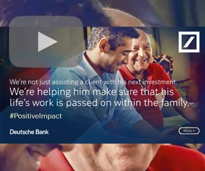 Deutsche Bank has positive impact on ad campaign
