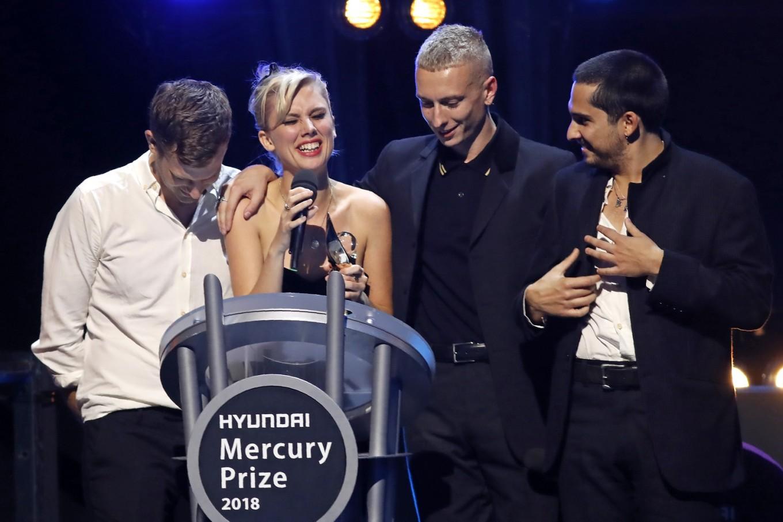 British rockers Wolf Alice upset odds to win Mercury Prize