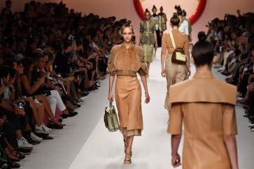 In Milan, Fendi and Prada dress strong women, Armani invades airport