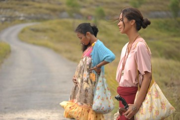 Campaigning for 'Marlina' to reign at the Oscars