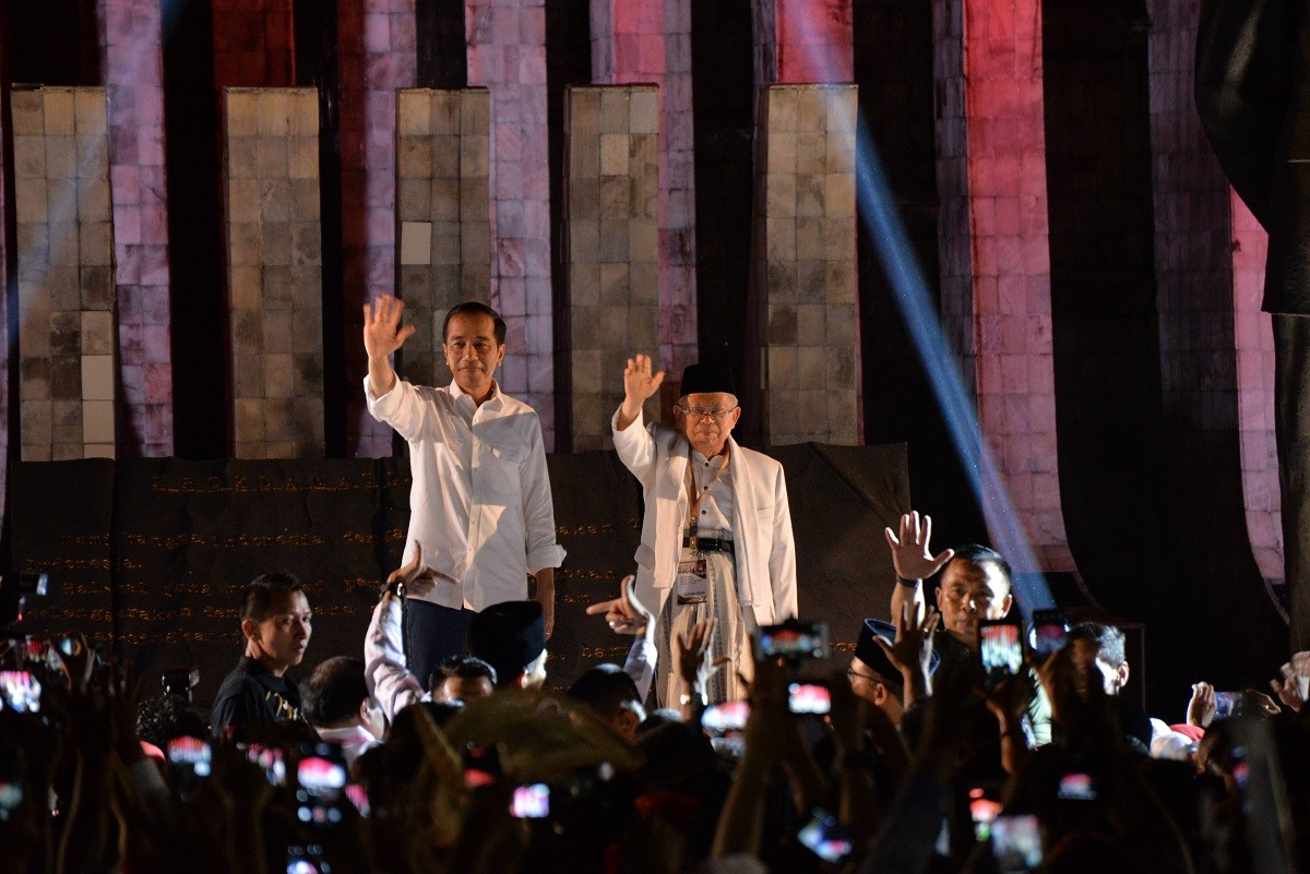 Here are Jokowi-Ma'ruf's nine 'missions' for 2019's presidential poll