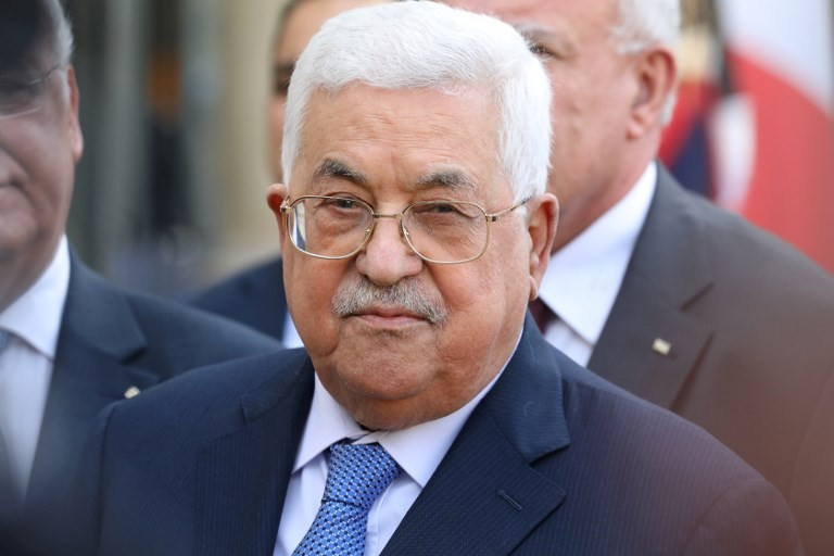 Only Abbas able to make peace: former Israel PM Olmert