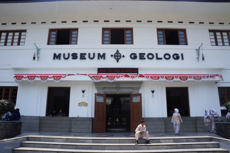 The Geological Museum is located on Jl. Diponegoro.
