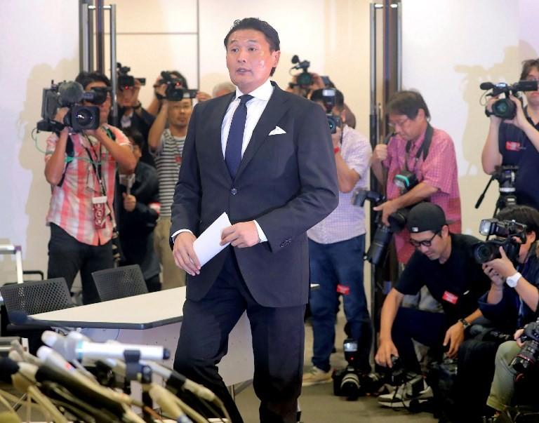Sumo boss Takanohana resigns over assault row