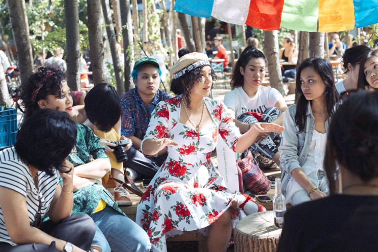 Networking: Participants from Southeast Asia, Australia and New Zealand join a trip to Berlin to connect feminist viewpoints with popular culture.