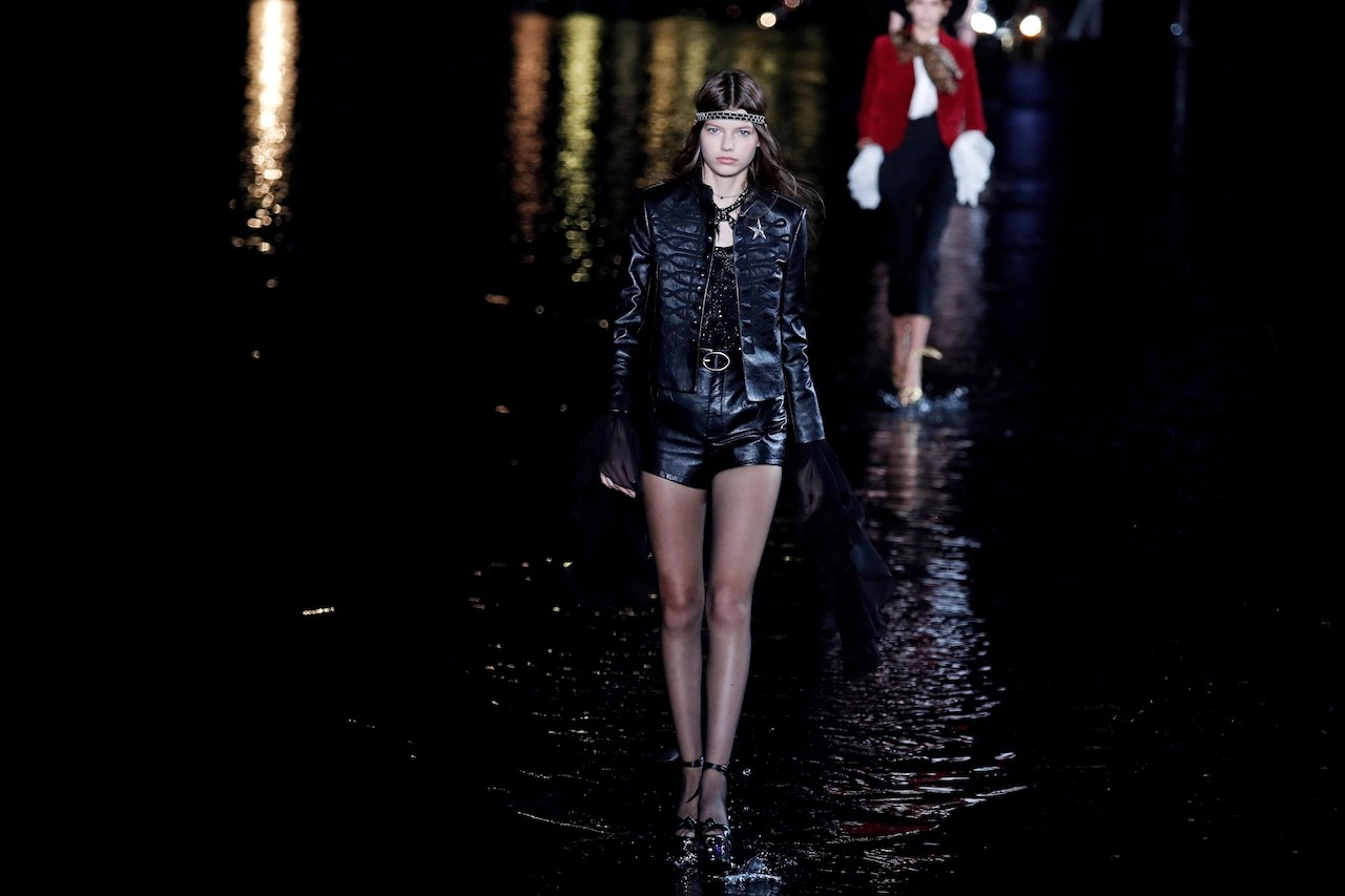 Saint Laurent Walks On Water At Paris Fashion Week Lifestyle The