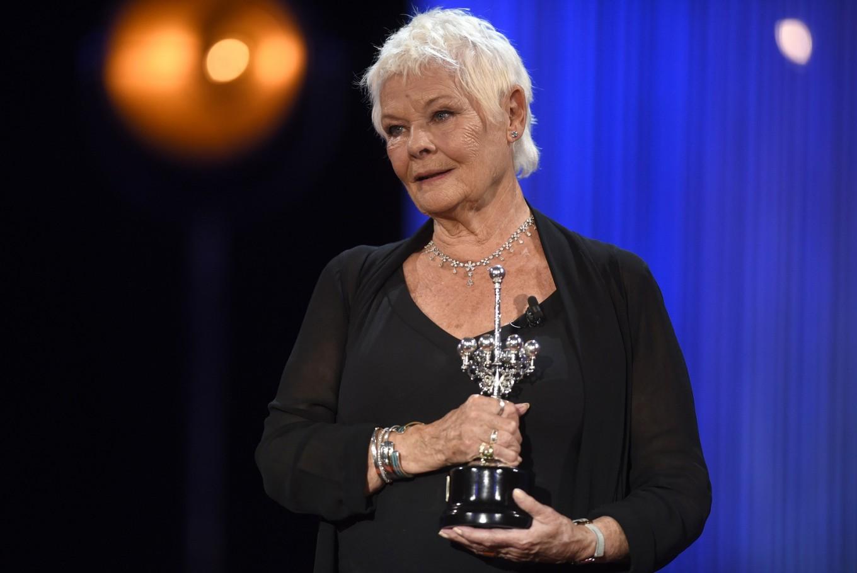 Screen legend Judi Dench honored at Spain film festival