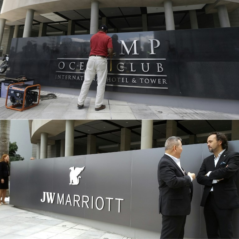 Marriott takes control of Panama Trump tower after long dispute