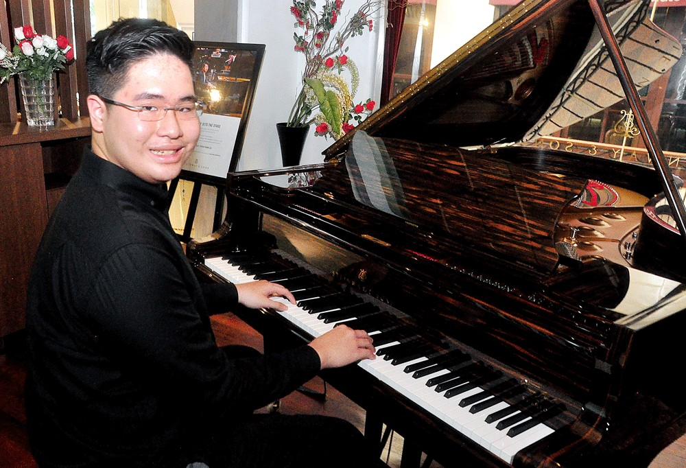 Piano prodigy Jonathan Kuo to hold new recital