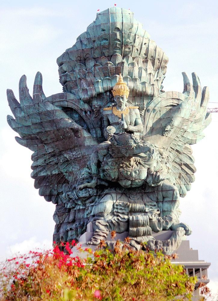 The Garuda Wisnu Kencana statue