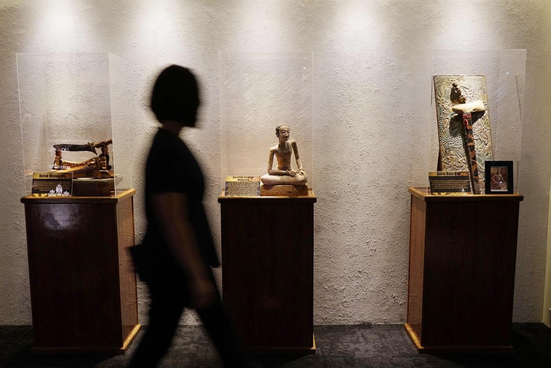 Majapahit kingdom artifacts exhibited in Jakarta