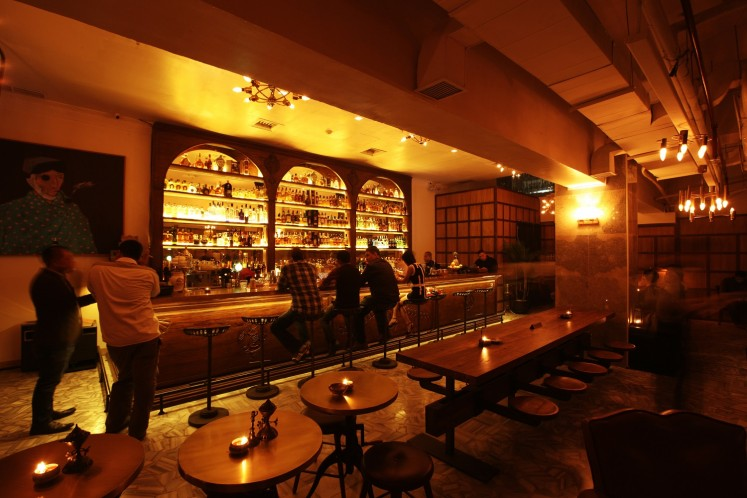 Bauhaus 1933 is a speakeasy-style bar.