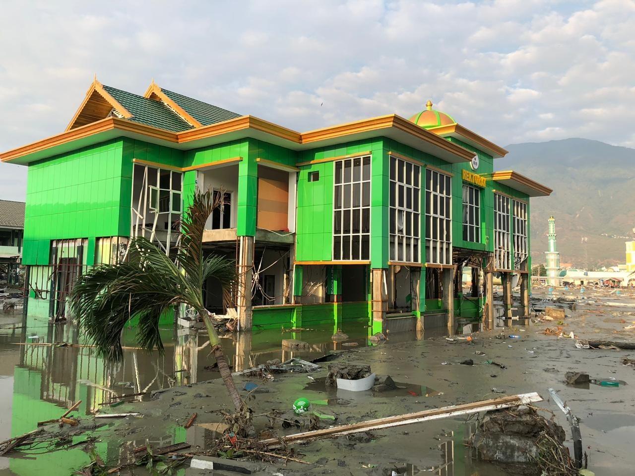 Tsunami, not collapsed buldings, killed most quake victims in Palu: BNPB