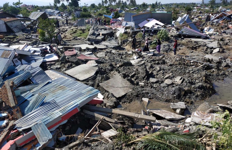 Quake-triggered mudflow flattens Palu villages, thousands feared dead