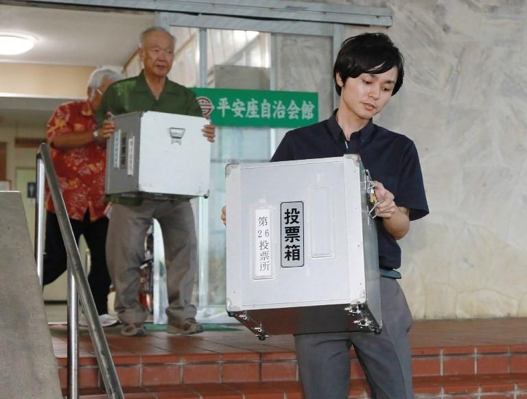 Anti-US base candidate wins Okinawa gubernatorial election